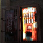 Caged Vending Machines
