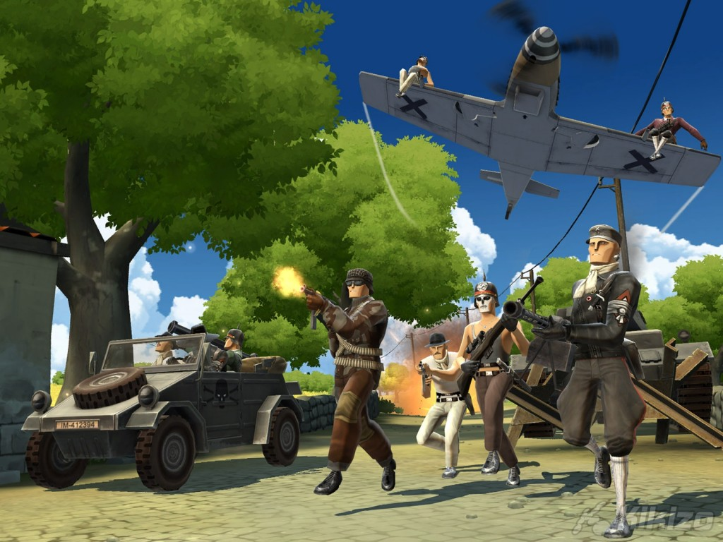 Battlefield Heroes: Cartoons have never been this badass.